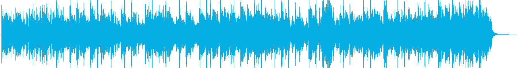 Funky and light synthesizing's reproduced waveform