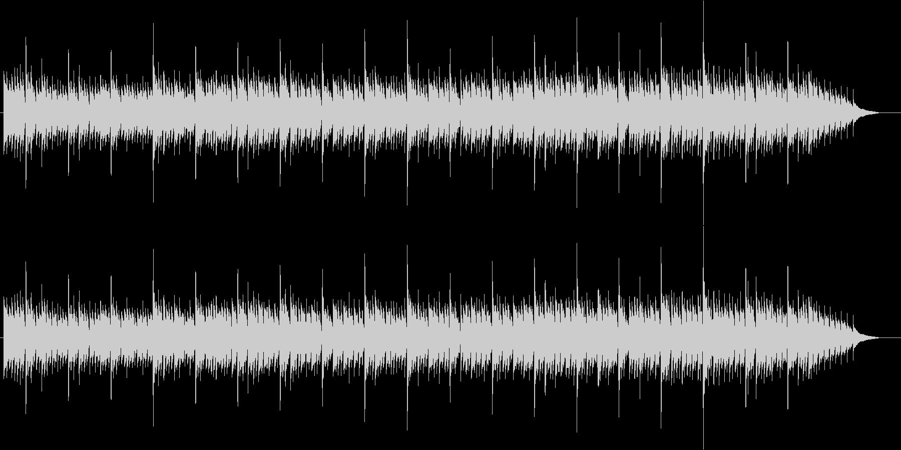 アコースティックギターによる雨の街3 の未再生の波形