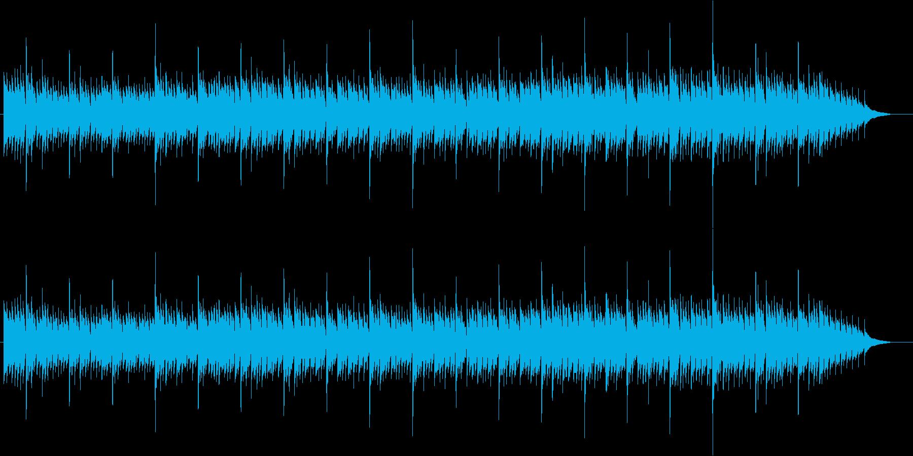 アコースティックギターによる雨の街3 の再生済みの波形