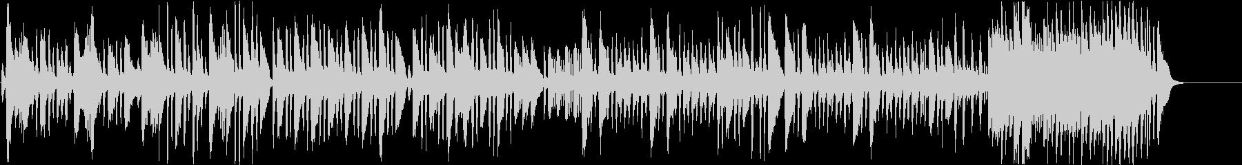 狩人の合唱のクラシック曲をヴァイオリンでの未再生の波形