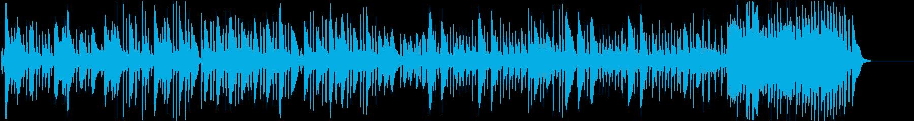 狩人の合唱のクラシック曲をヴァイオリンでの再生済みの波形