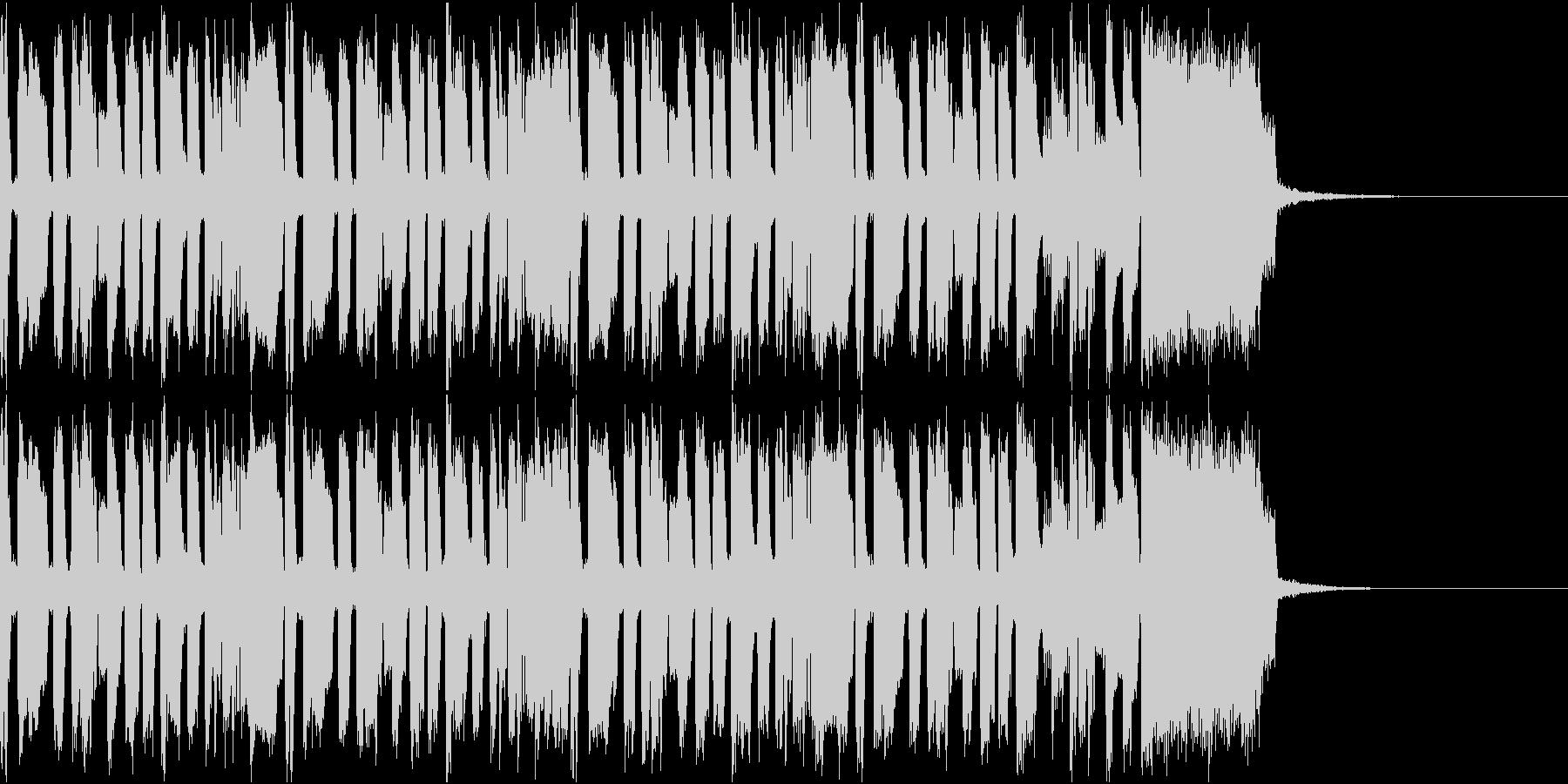 ニュース ラジオ テクノジングル4の未再生の波形