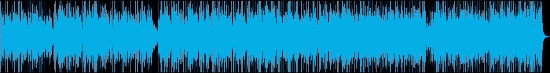 アコギメロディーほのぼの軽快曲の再生済みの波形
