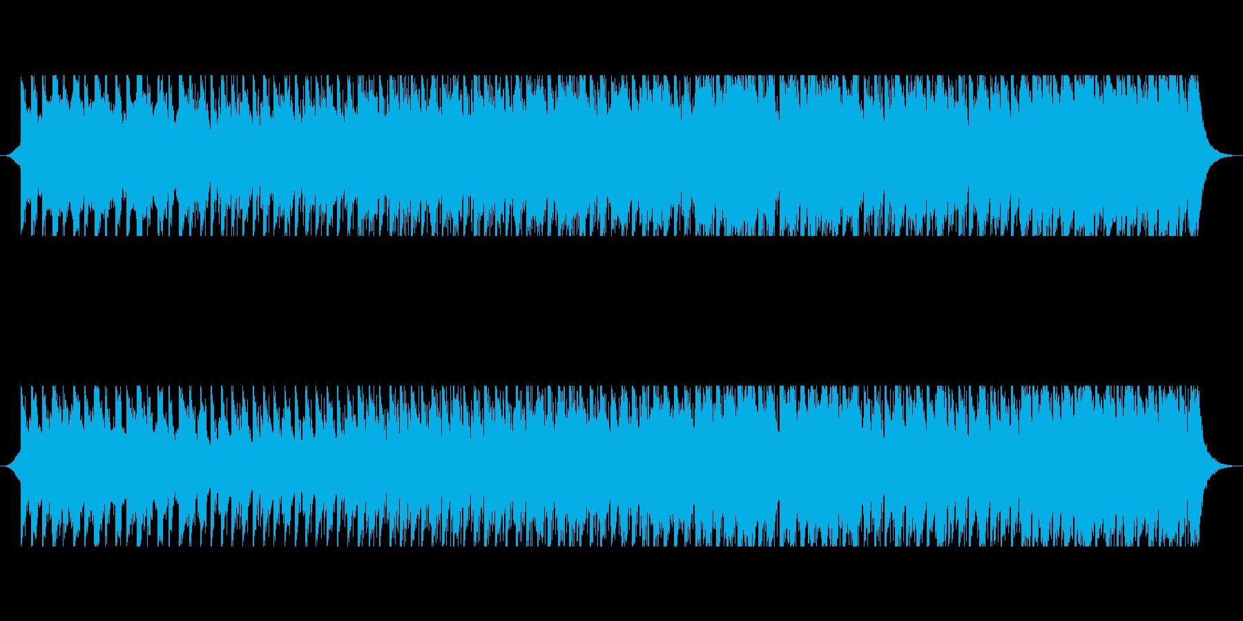 砂漠のキャラバンの再生済みの波形