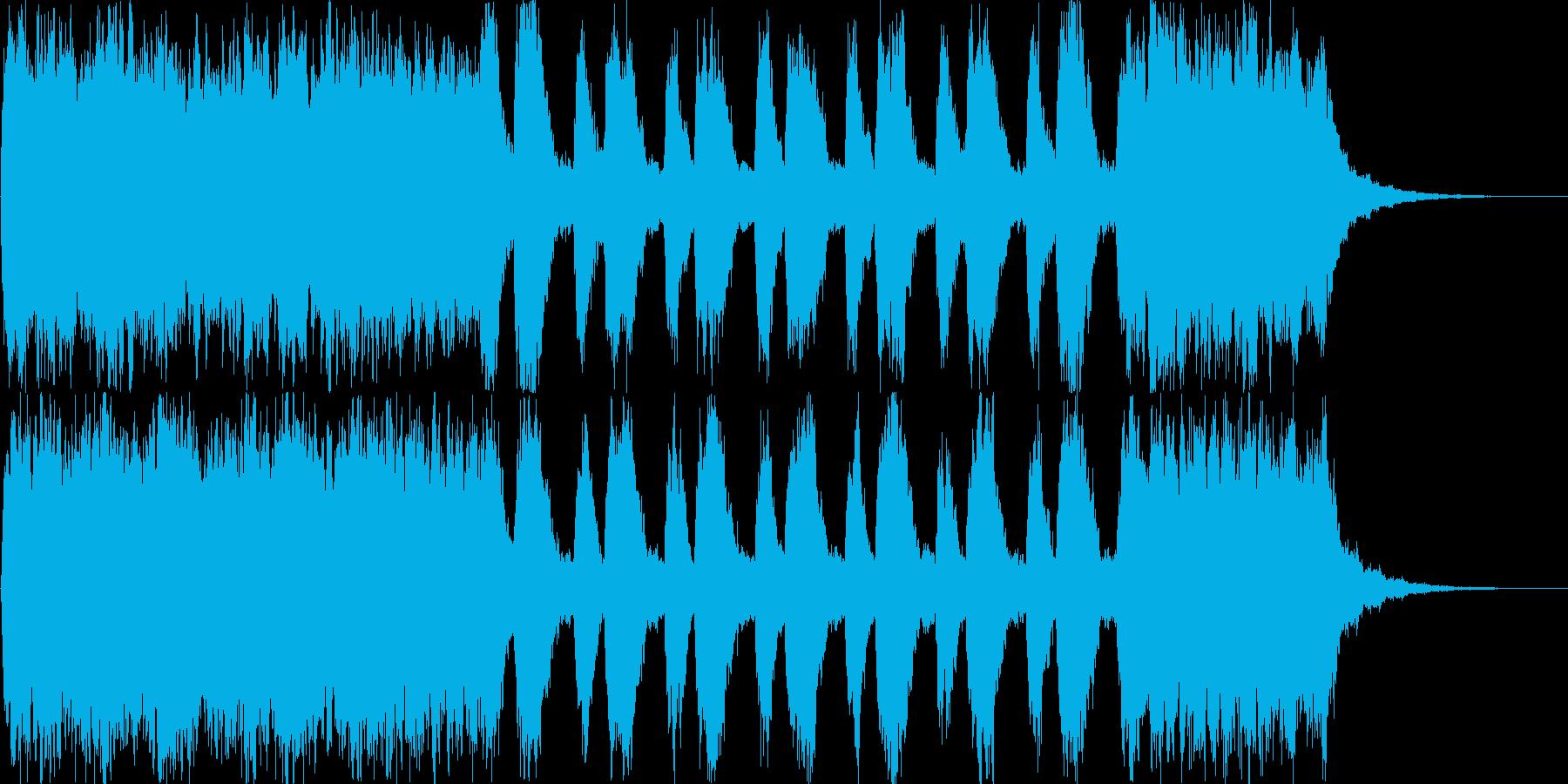 ストリングスによる表彰シーンや結婚式な…の再生済みの波形