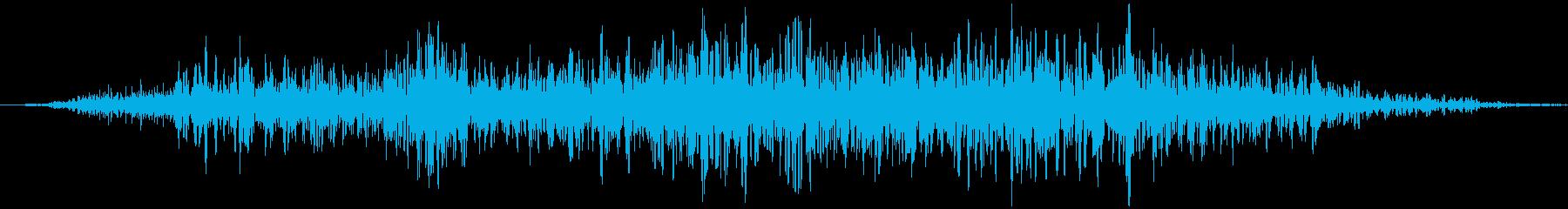 ふすま (開ける、閉める) ガラッの再生済みの波形