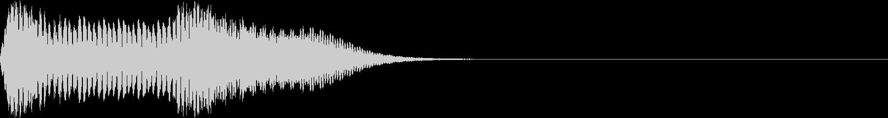 キュイン 強い 熱い 激アツ ギュインの未再生の波形