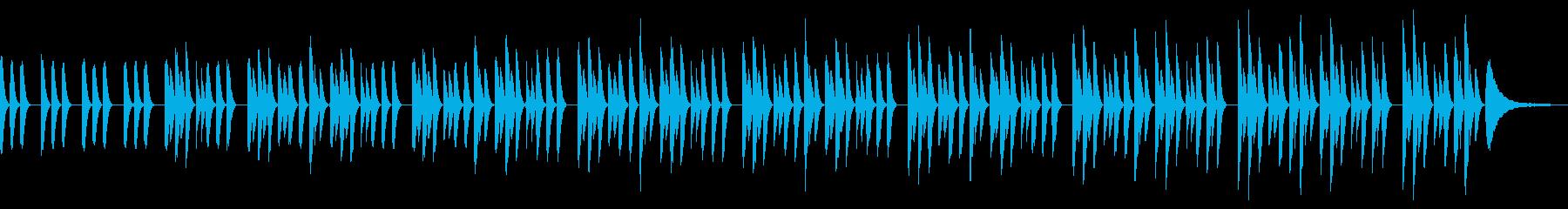 ミニマル・ピアノソロ・子供・工作・優しいの再生済みの波形