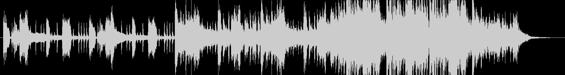 ジングル - おしゃれエレクトロの未再生の波形