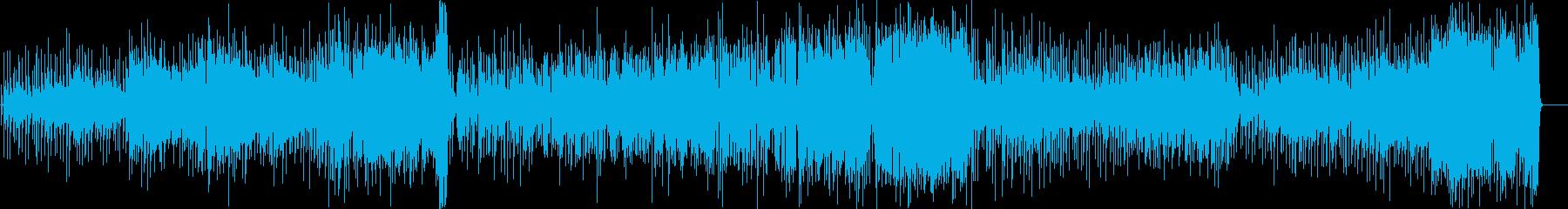 ジャズインスト洗練された複雑なメト...の再生済みの波形