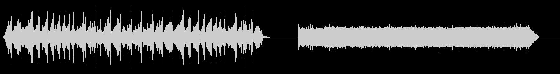 電気ヤコブの梯子_電気ハム、バズ、アーチの未再生の波形