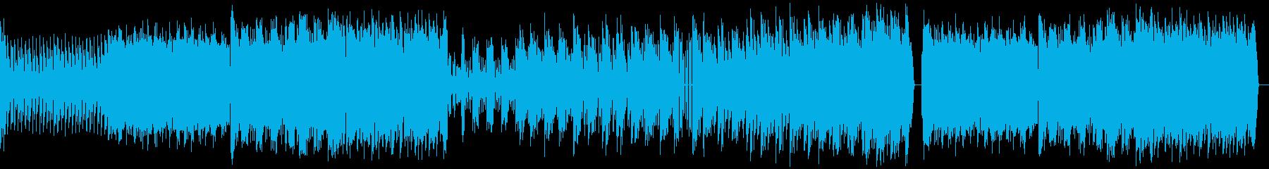 邪悪でトップスピードなハードコアテクノの再生済みの波形