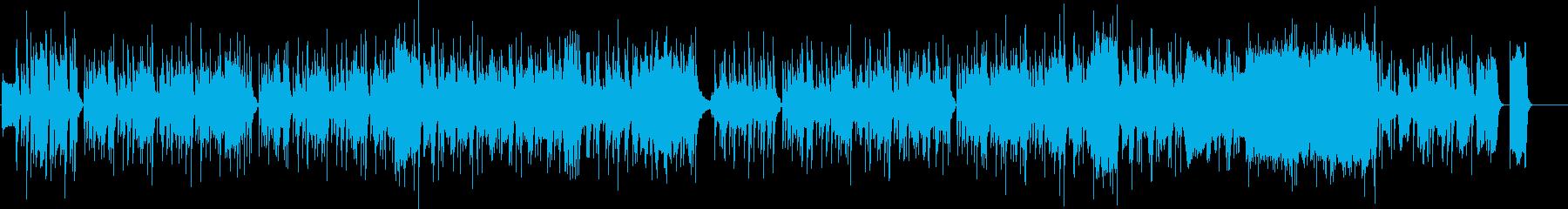 アウトドアとビジョン。歌。チャチャ...の再生済みの波形
