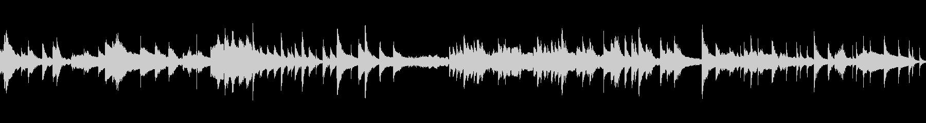 琴と和太鼓が印象的な曲です。の未再生の波形