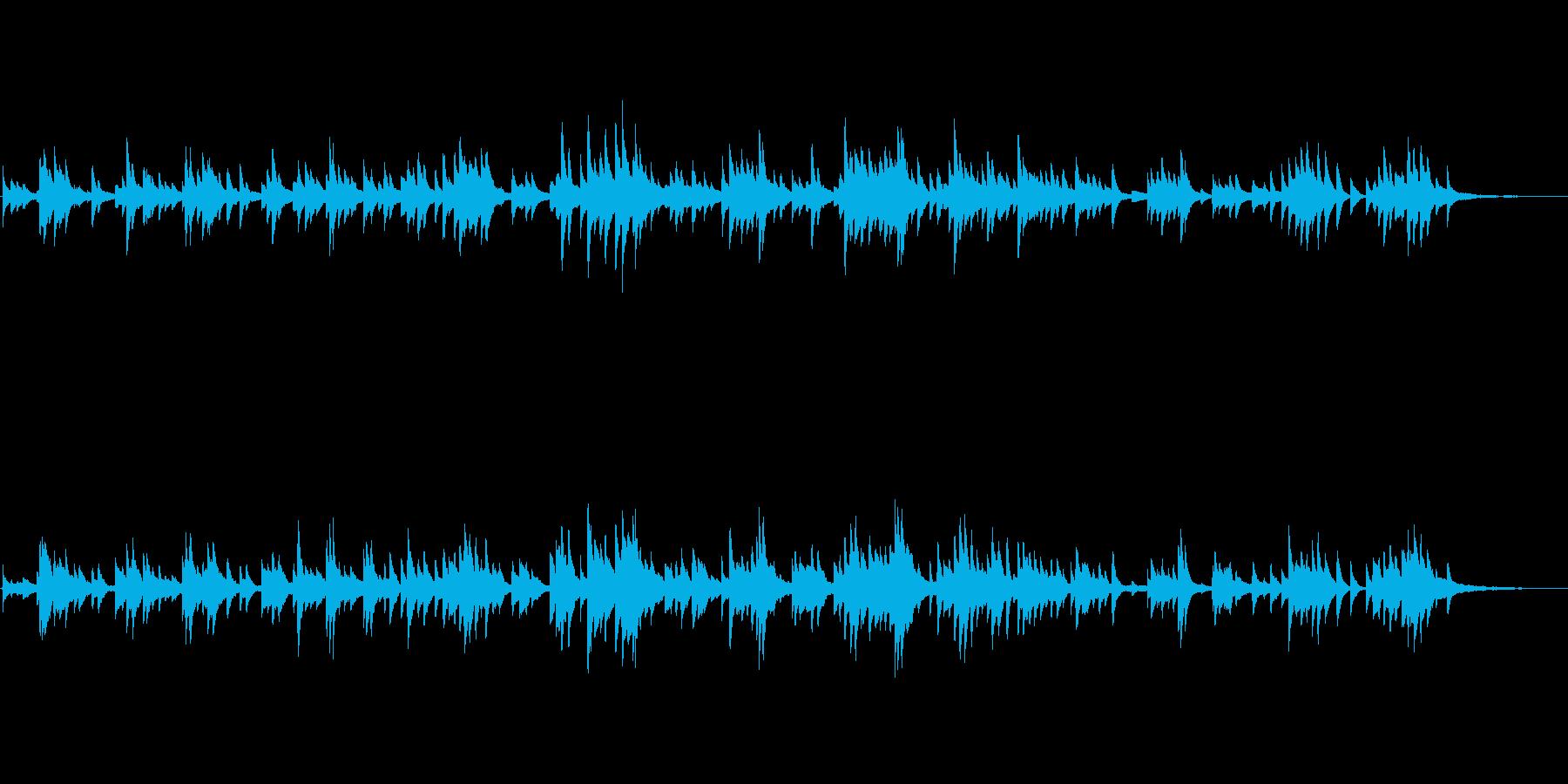 生ピアノソロ・椿の再生済みの波形