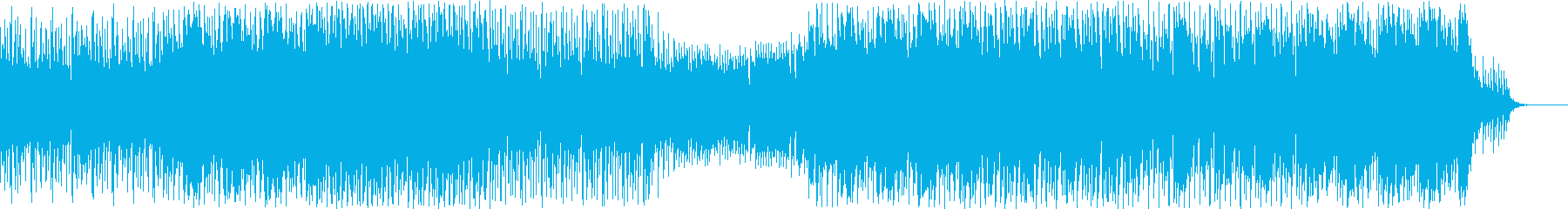 初詣、お正月イメージのシンセポップの再生済みの波形