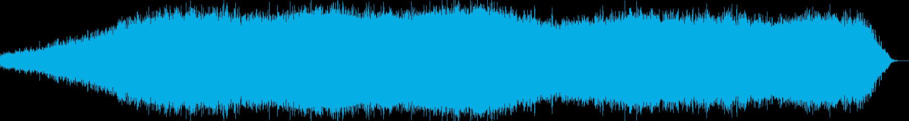 リラックスムードのアンビエントの再生済みの波形
