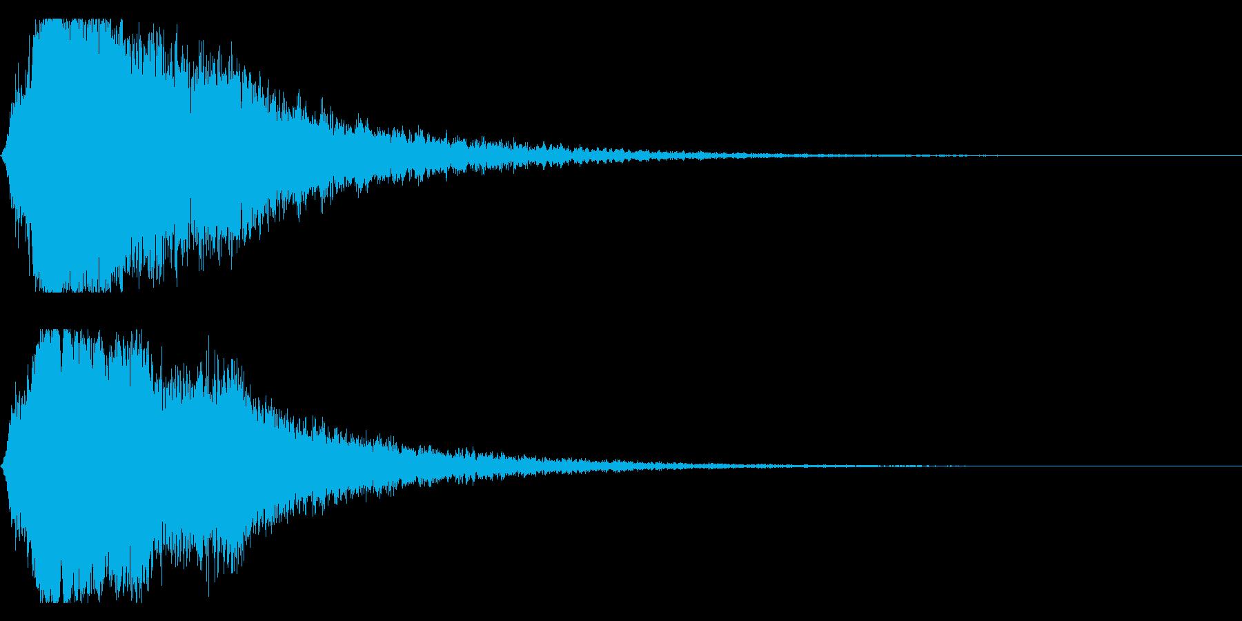 シャキーン キラーン☆強烈な輝き!7bvの再生済みの波形