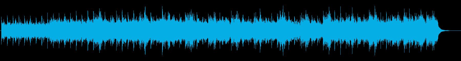 幻想的で楽しげなアンビエント風ポップスの再生済みの波形