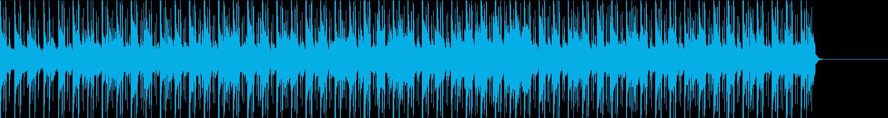 シンプルで色気のある曲の再生済みの波形