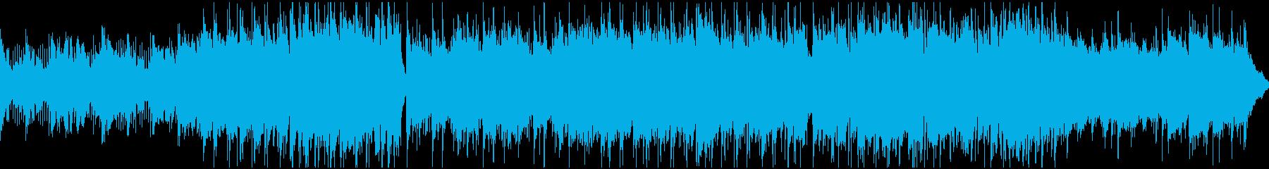 切ないケルト曲(ループ)の再生済みの波形