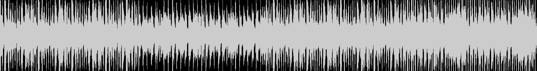 【ループ】カジノ風楽しい怪しげなBGMの未再生の波形