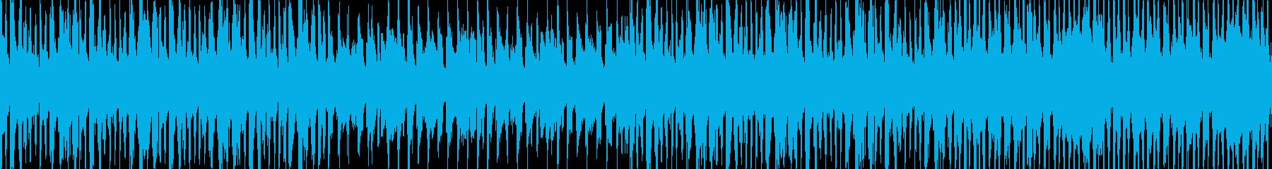 【ループ】カジノ風楽しい怪しげなBGMの再生済みの波形