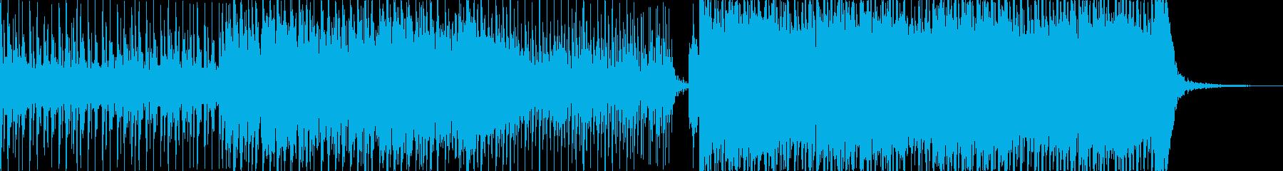 ロック、ポップ、デジタル、ヴォーカルの再生済みの波形