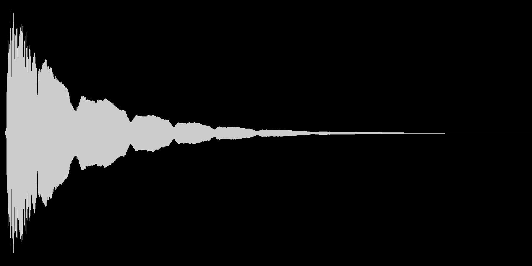 【光る】キュピーンの未再生の波形