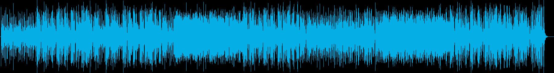 穏やかで優しいピアノシンセサウンドの再生済みの波形