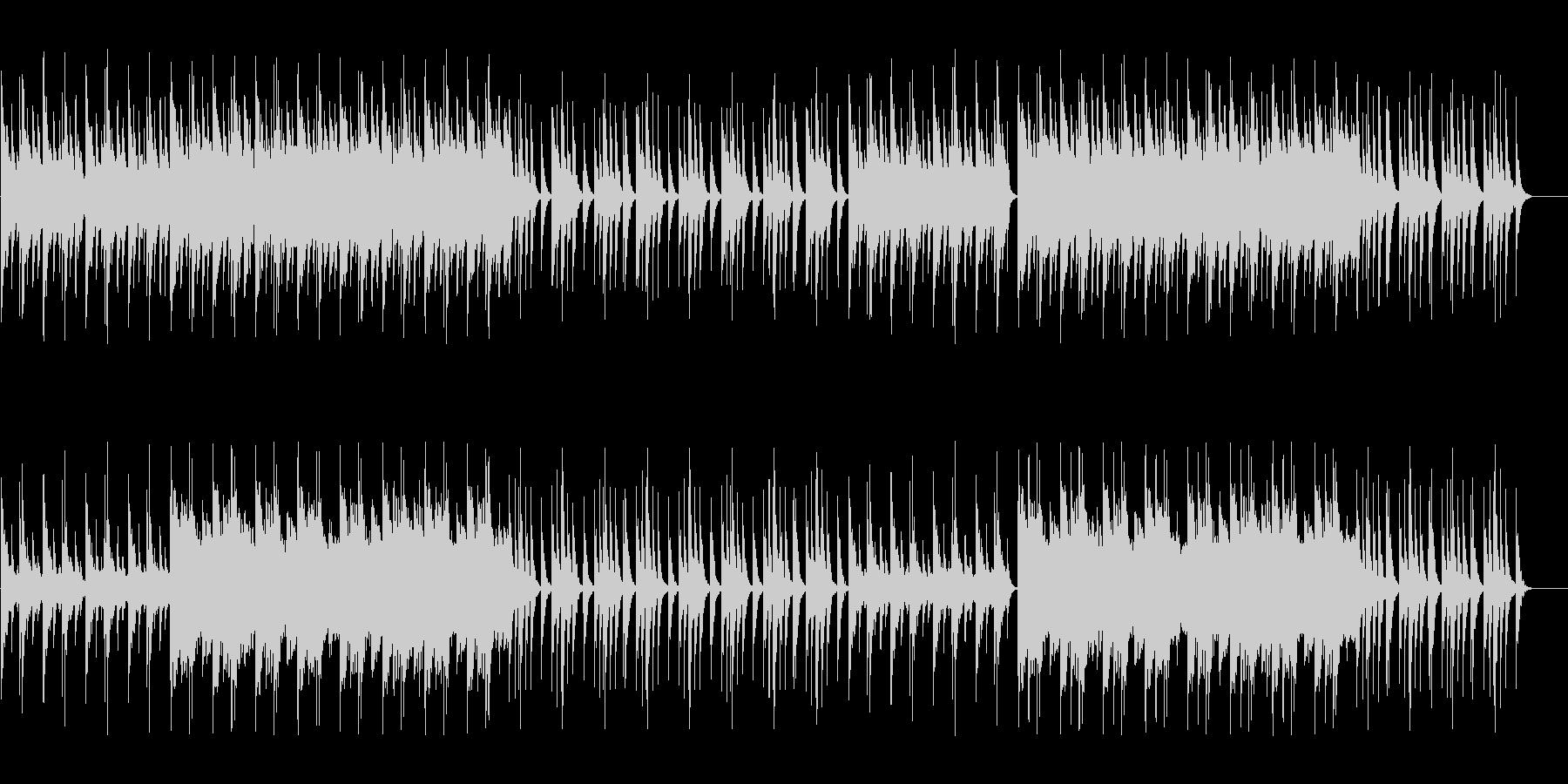 和楽器を使用した少し不気味な和風ホラー曲の未再生の波形