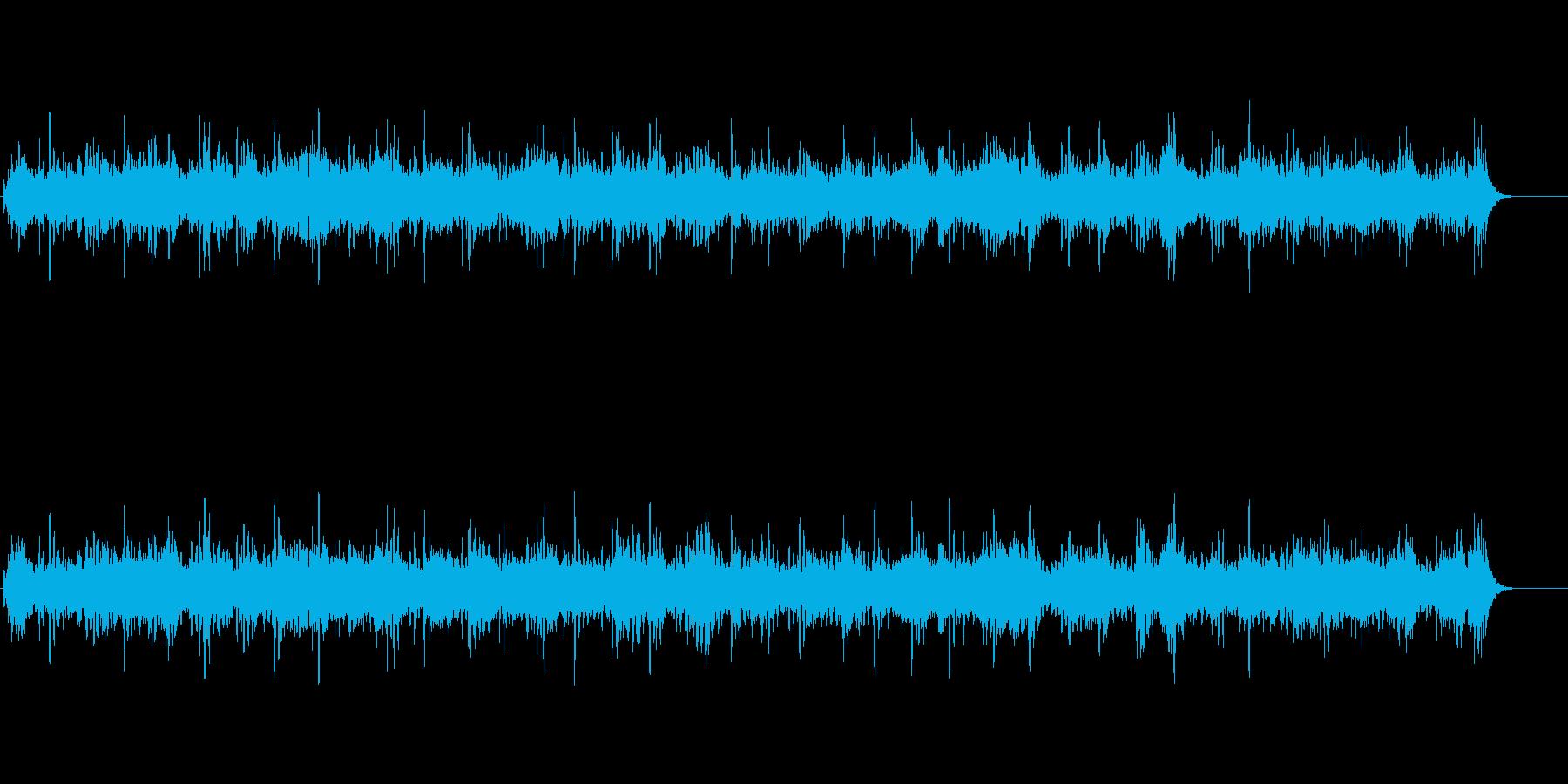 ゆっくりとした癒しの曲です。の再生済みの波形