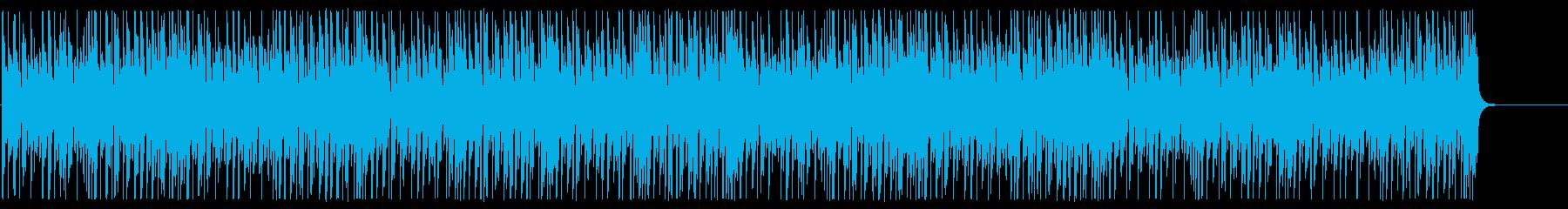 ポップ かわいい ほのぼの イメージの再生済みの波形