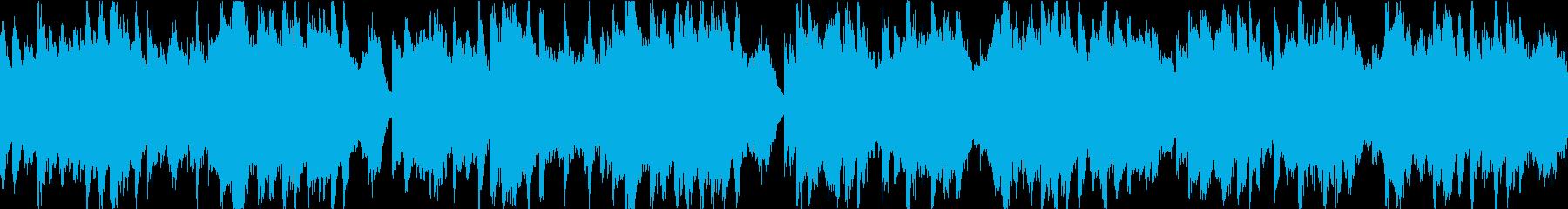 クラシック楽器。 JSバッハのスタ...の再生済みの波形