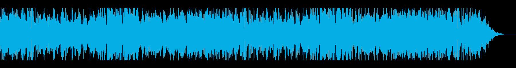 ほのぼのした雰囲気のポップスギターソロの再生済みの波形