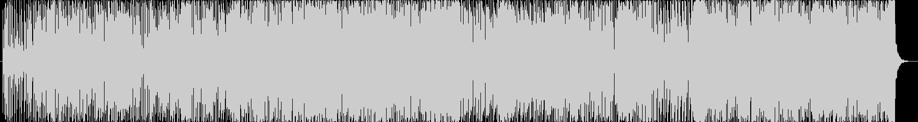 エレクトロなアシッドJazzの未再生の波形