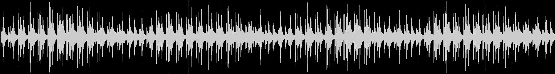 ゆったりと明るく爽やかなピアノBGM-2の未再生の波形
