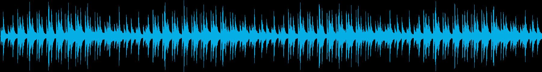 ゆったりと明るく爽やかなピアノBGM-2の再生済みの波形