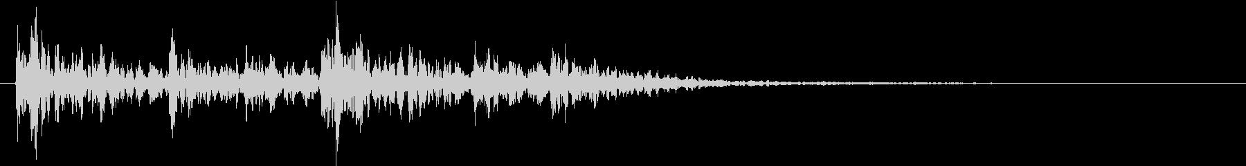 シネマ3の未再生の波形