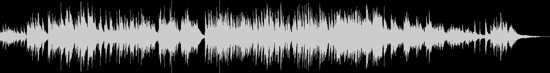 【ピアノバラード】綺麗で明るめ感動系PVの未再生の波形
