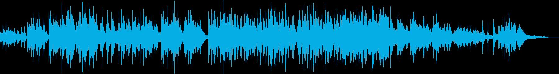 【ピアノバラード】綺麗で明るめ感動系PVの再生済みの波形