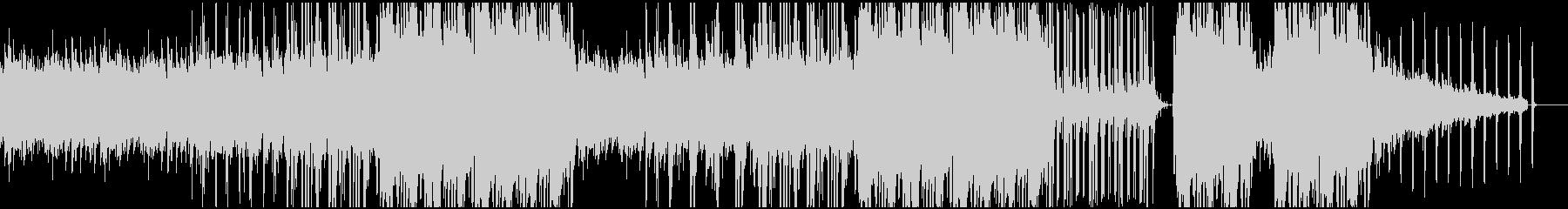 ピアノが切ないヒップホップ調BGMの未再生の波形