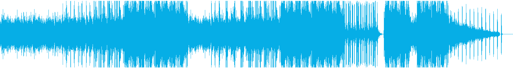 ピアノが切ないヒップホップ調BGMの再生済みの波形