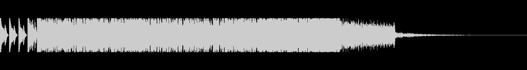 ブチアゲの高速EDMシンセリードロックの未再生の波形