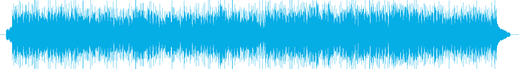 ハワイアンの定番をポップスアレンジの再生済みの波形