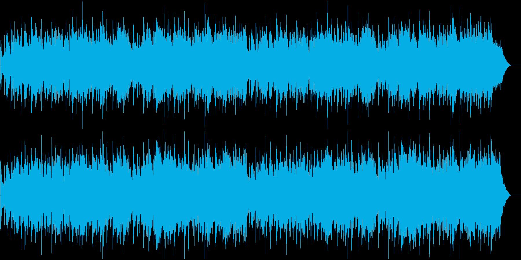のどかで懐かしさ残るメロディーの再生済みの波形