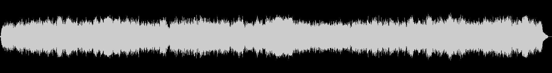 キラキラ静かな夜のイメージのBGMの未再生の波形