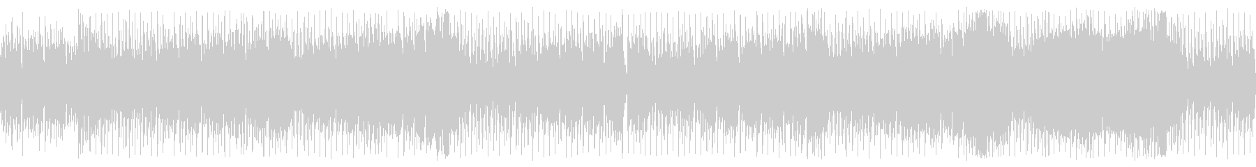 Stylish house-style chip tune's unreproduced waveform
