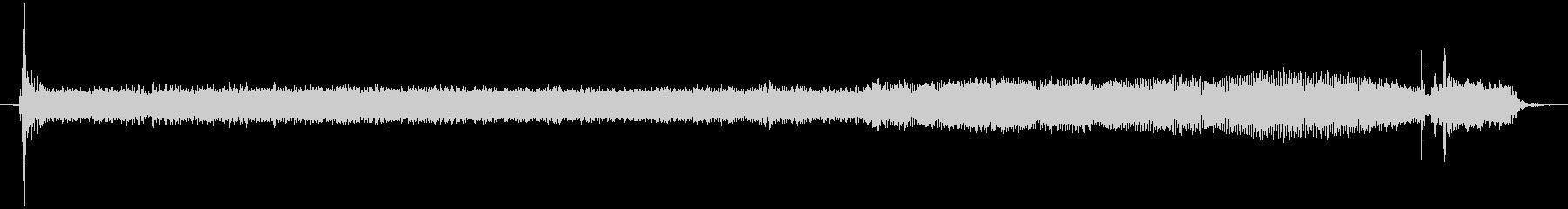 サーマルラベルプリンター:シングル...の未再生の波形