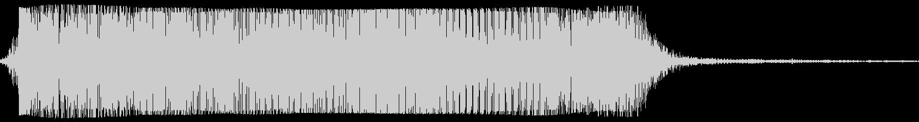 ギターメタルパワーコードzi wの未再生の波形
